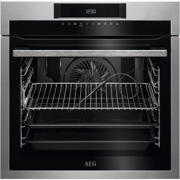 AEG BPE742320M Single Built In Electric Oven