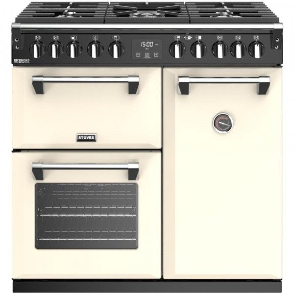 Stoves Richmond S900DF Classic Cream 90cm Dual Fuel Range Cooker