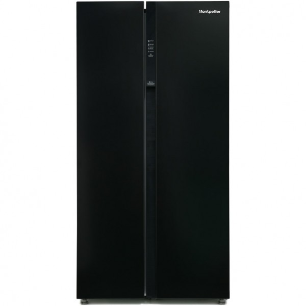 Montpellier M510BK American Fridge Freezer
