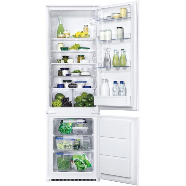 Zanussi ZBB28441SV Frost Free Integrated Fridge Freezer