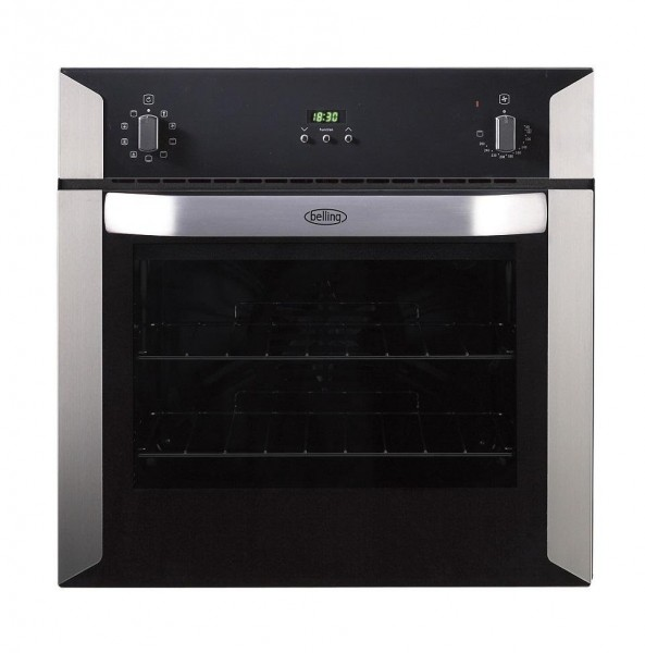 Belling BI60MF Stainless Steel Single Built In Electric Oven
