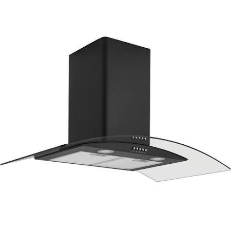 Caple CGC911BK Chimney Hood