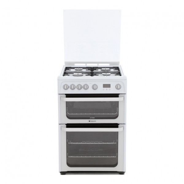 Hotpoint HUG61P Gas Cooker with Double Oven