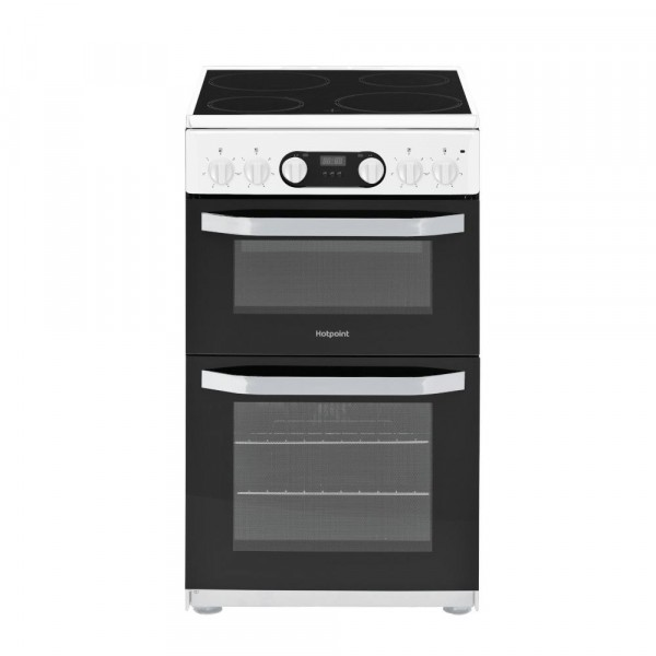 Hotpoint HD5V93CCWUK Electric Cooker with Double Oven