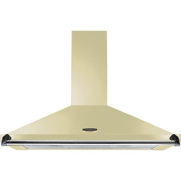 Rangemaster CLAHDC90CR/C Classic Cream with Chrome Trim 90cm Chimney Hood