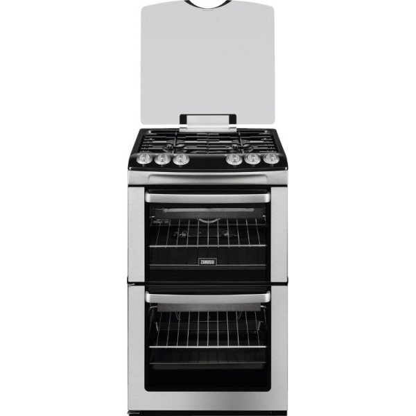 Zanussi ZCG55WGX Gas Cooker with Double Oven