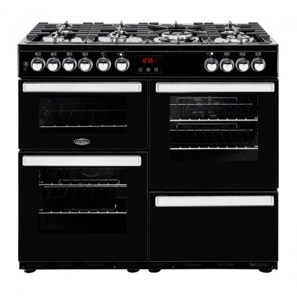 Belling Cookcentre 100dft Black 444444083