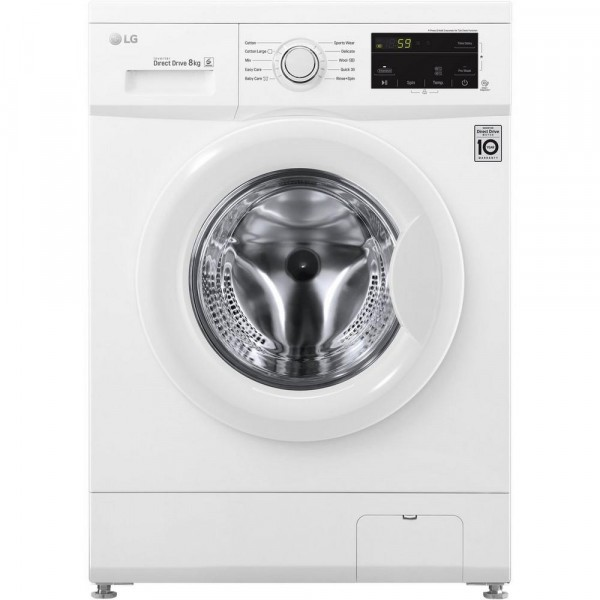 LG F4MT08W 8 kg 1400 Inverter Direct Drive Washing Machine Launceston