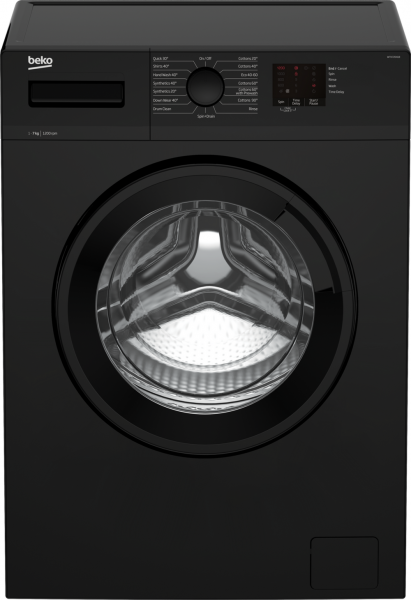 Beko WTK72041B Black Washing Machine
