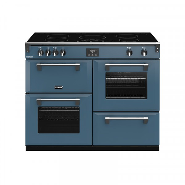 Stoves RIDXS1100EICBTB Richmond Deluxe Range Cooker in Thunder Blue 444410993 Launceston Cornwall Devon Southwest