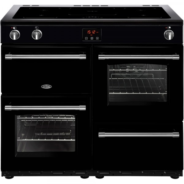 Belling Farmhouse Range Cooker 444444142 In Black