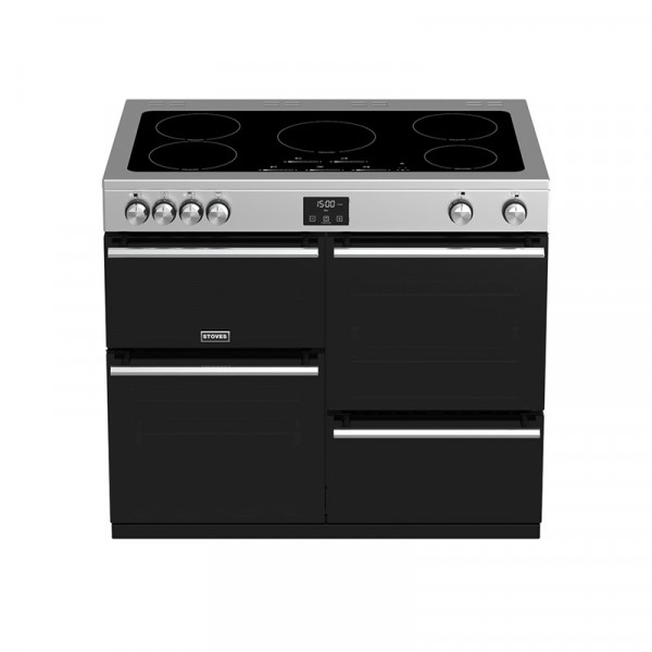 Stoves Precision DXC1000ei Stainless Steel Range Cooker