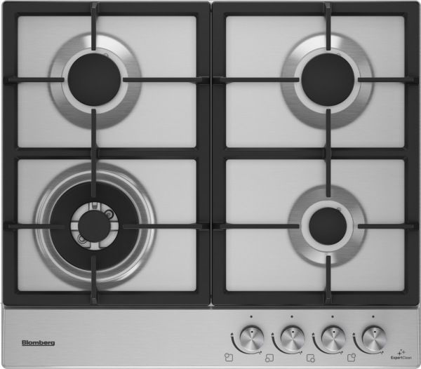 Blomberg GEN73415E 58cm Gas Hob in Stainless Steel Launceston Cornwall Devon Southwest
