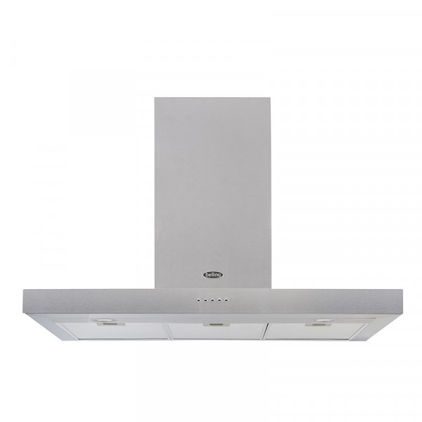 Belling Cookcentre 100cm Flat Cooker Hood In Stainless 444410345