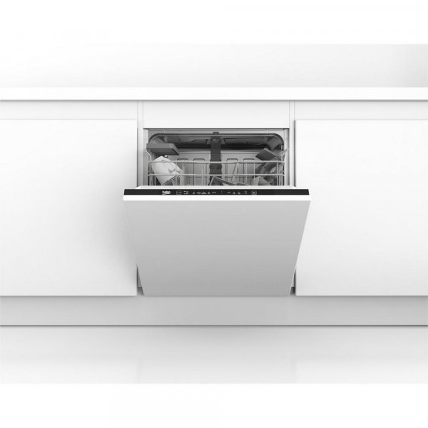 Beko DIN15C10 Built In Dishwasher integrated 60cm 14 place setting devon