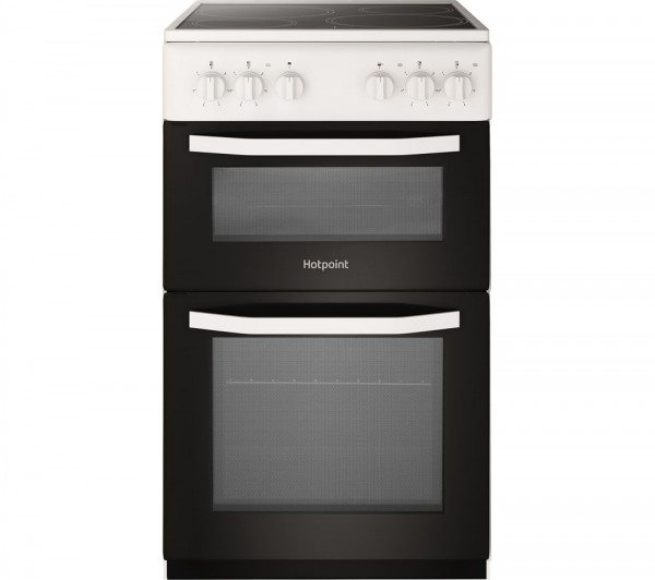 Hotpoint HD5V92KCW Electric Ceramic Cooker White Launceston