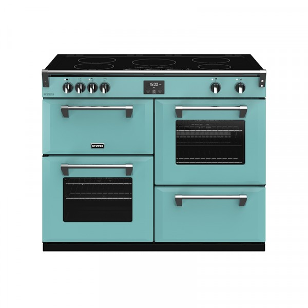 Stoves RIDXS1100EICBCB Richmond Deluxe Range Cooker in Country Blue 444410989 Launceston Cornwall Devon