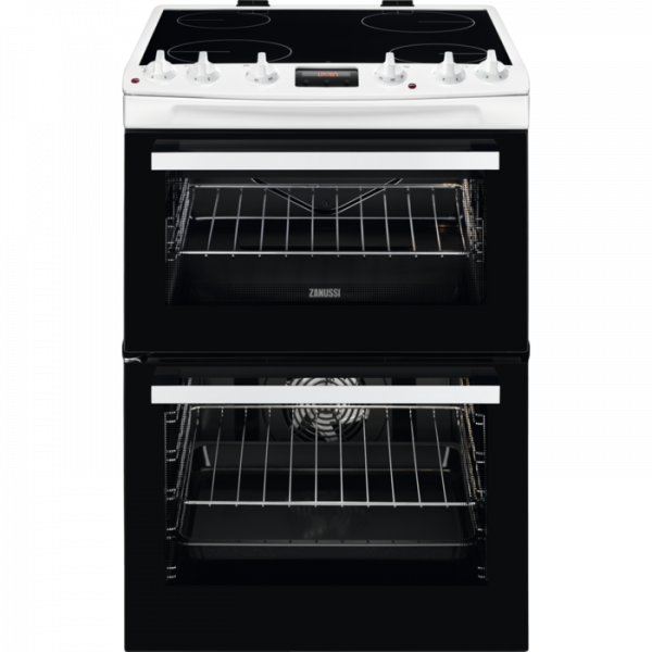 Zanussi ZCV66078WA 60cm Electric Cooker