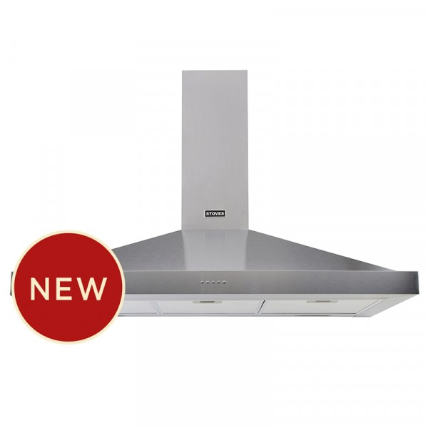 Stoves S1000 Sterling Cooker Hood In Stainless Steel 444410240