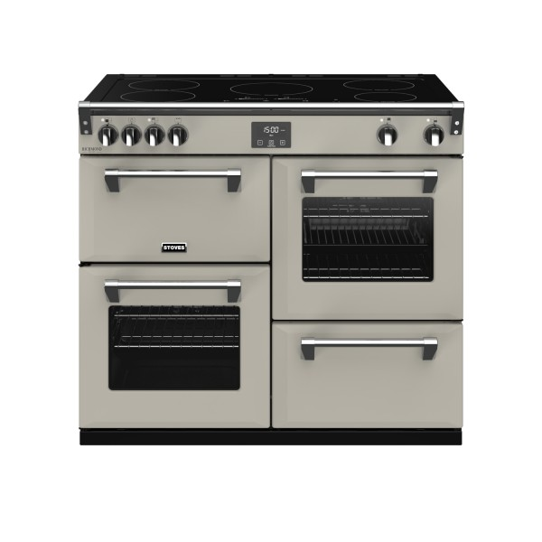 Stoves RIDXS1000EICBPM Richmond Deluxe Electric Range Cooker in Porcini Mushroom 444410952 launceston