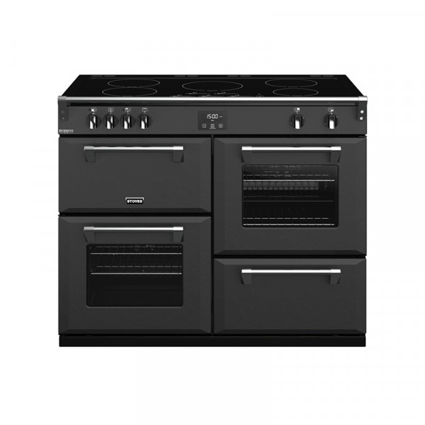 Stoves RIDXS1100EICBAG Richmond Deluxe Range Cooker in Anthracite Grey 444410986 Launceston Cornwall Devon