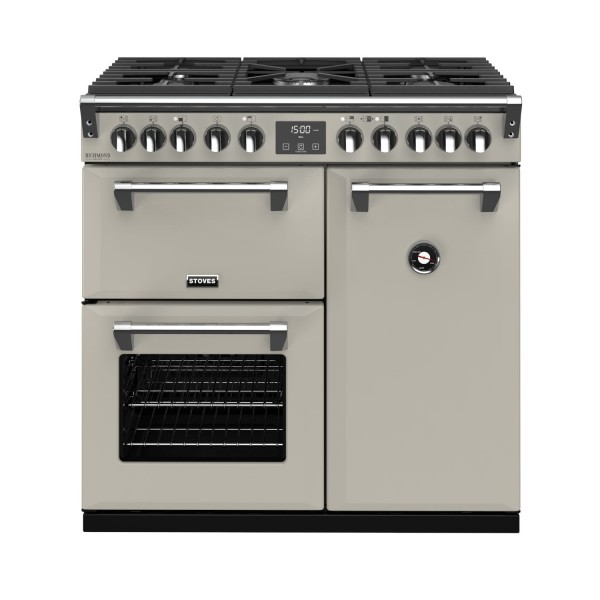 Stoves RIDXS900DFCBPM Richmond Deluxe Range Cooker in Porcini Mushroom 444410898 Launceston