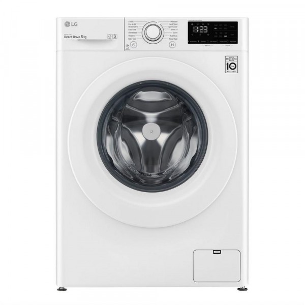 LG F4V308WNW 8kg 1400 Spin Washing Machine Launceston Cornwall