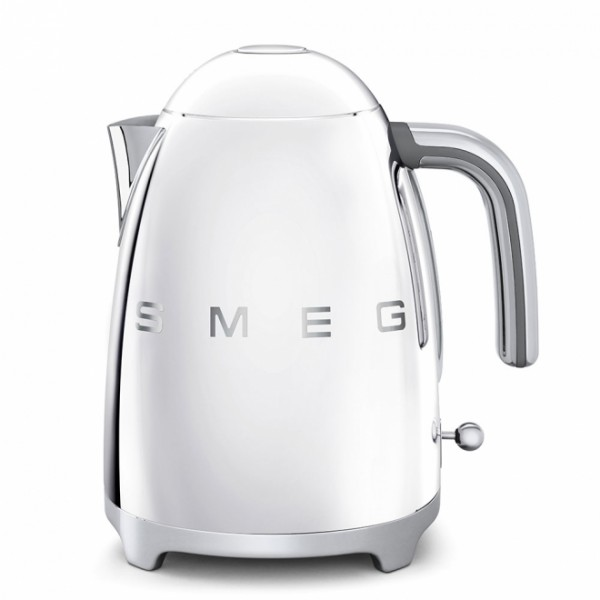 SMEG KLF01SSUK Retro Style Kettle In Silver