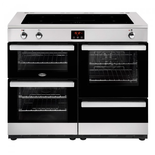 Belling Cookcentre 110ei 110cm Stainless Steel Range Cooker 444444103