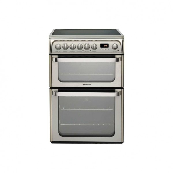 Hotpoint HUE61X Double Oven