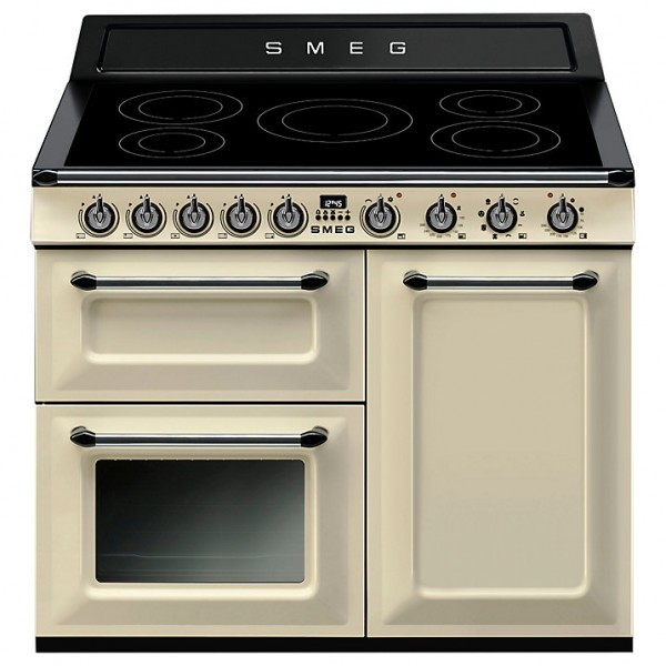 SMEG TR103IP Victoria Range Cooker In Cream