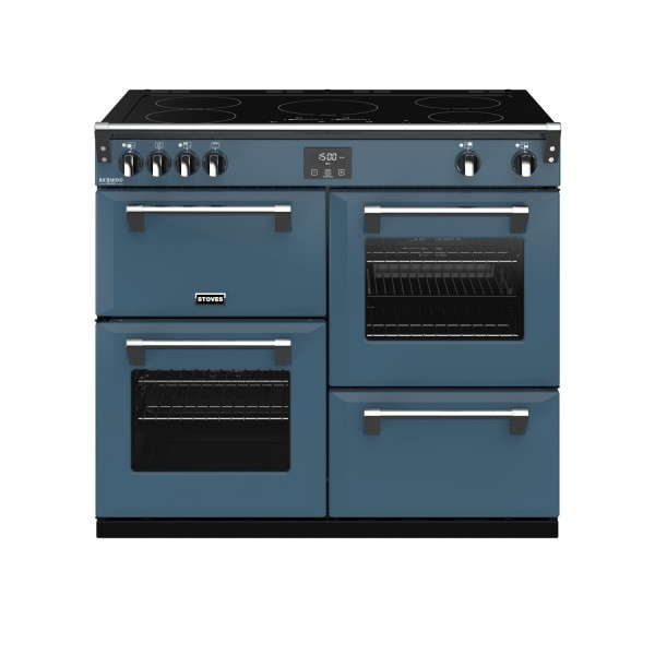 Stoves RIDXS1000EICBTB Richmond Deluxe Electric Range Cooker in Thunder Blue 444410957 Launceston