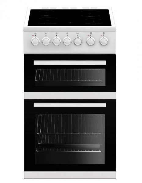 Beko EDVC503W 50cm Electric Cooker