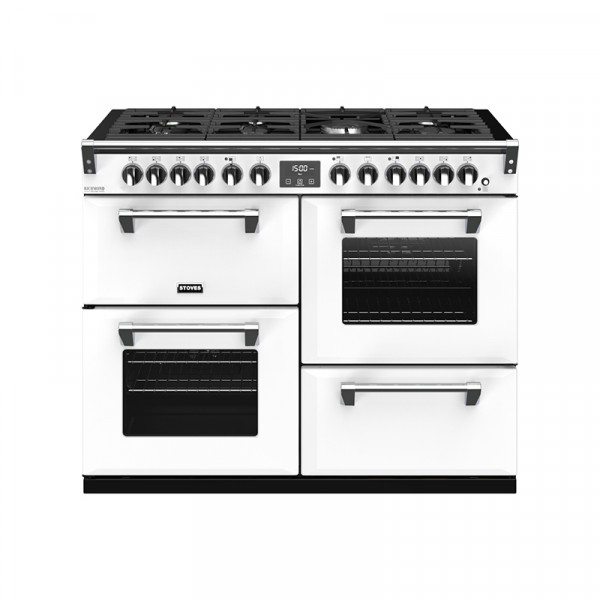 Stoves RIDXS1100DFCBIW Richmond Deluxe Range Cooker in Icy White 444410969 Launceston