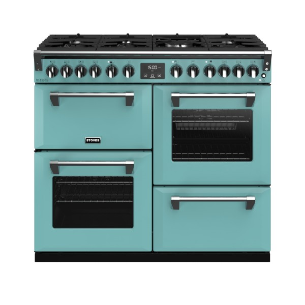 Stoves RIDXS1000DFCBCB Richmond Deluxe Range Cooker in Country Blue 444410935 Launceston