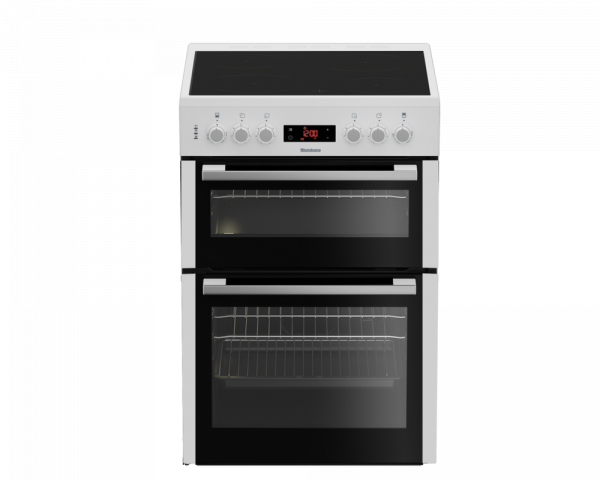 Blomberg HKN65W Double Oven Electric Cooker with Ceramic Hob Launceston