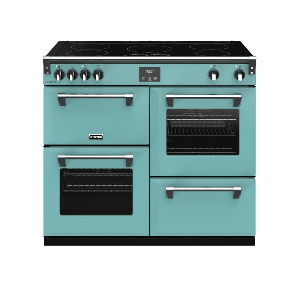Stoves RIDXS1000EICBCB Richmond Deluxe Electric Range Cooker in Country Blue 444410953 Launceston