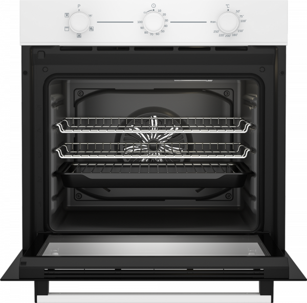 Beko CIFY71W AeroPerfect™ Built In Electric Single Oven - White - A Energy Rated