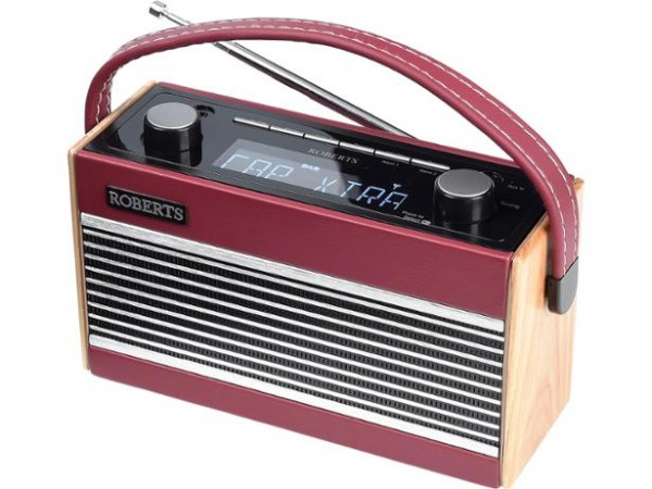 Roberts Radio Rambler Wood finish DAB radio also with FM