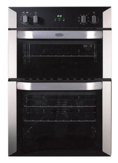 Belling BI90MFSTA Built in Double Oven 3 year warranty
