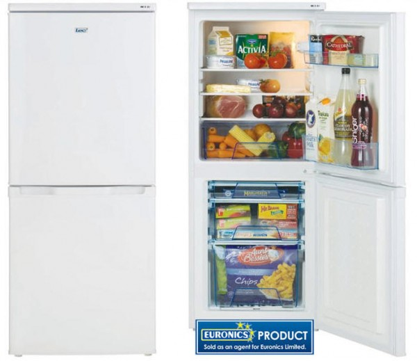 Lec T5039W Fridge Freezer 3 Year Warranty*