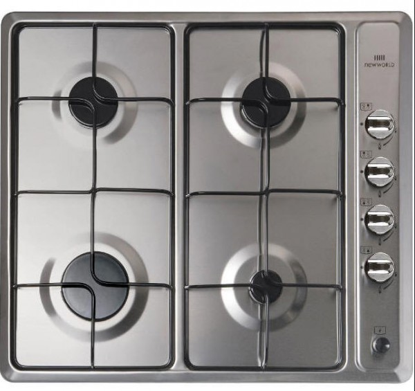 New World NWGHU601SS Built in Gas Hob