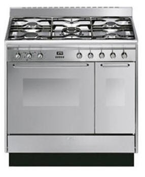 Smeg CC92MX9 Stainless steel Dual Fuel cooker
