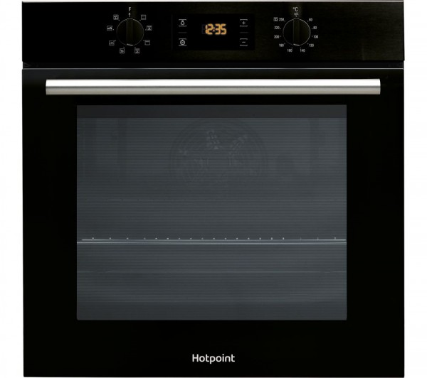 Hotpoint SA2540HBL Black Single Oven