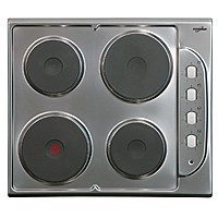 Statesman ESH630S Stainless Steel Solid Plate Hob
