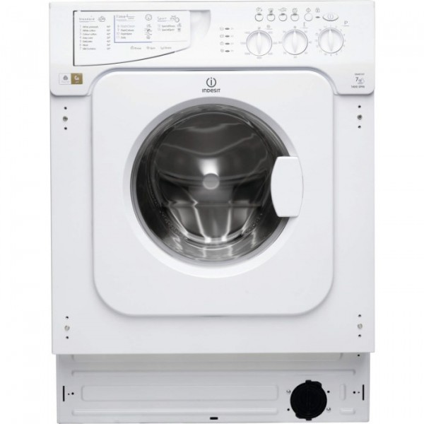 Indesit IWME147 1400 spin 7kg built in washing machine