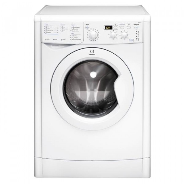 Indesit IWDD7123W Washer Dryer with 1200 spin 7kg wash 5kg dry