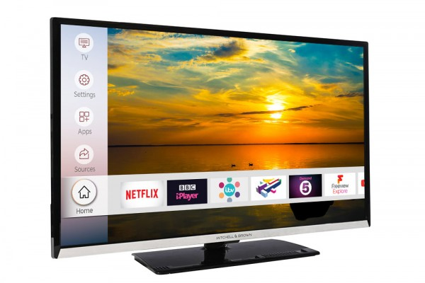 "MITCHELL & BROWN JB-32FH1811DSM 32"" SMART LED TV New F Energy rated FREE 7 YEAR WARRANTY"