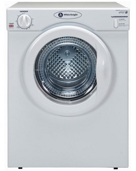White Knight C39AW compact tumble dryer