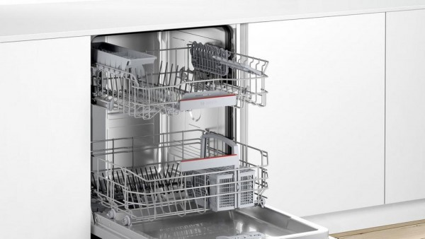 Bosch SMV4HAX40G Built In Full Size Dishwasher - 13 Place Settings